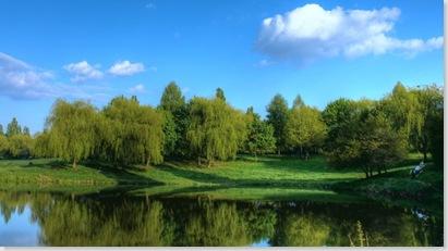 Теремно, парк. Рибалка в Луцьку