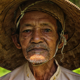 old farmer by Bagas Metalcore - People Portraits of Men
