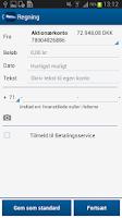 Screenshot of Handelsbanken DK - Privat
