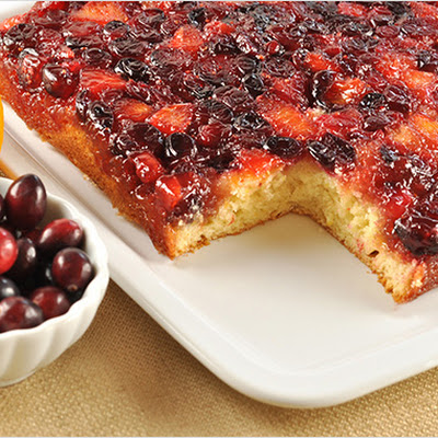 Cranberry-Orange Upside Down Cake