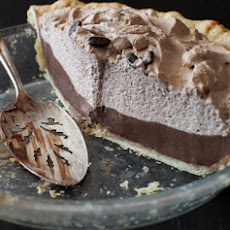 Mocha Pie with Espresso Whipped Cream