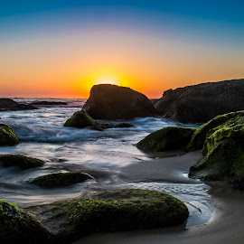 JD's Sunrise by Robert Banfield - Landscapes Sunsets & Sunrises