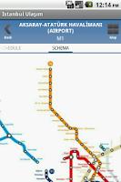 Screenshot of Istanbul Ulasim