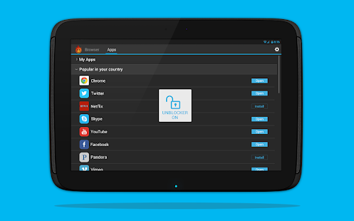 App Hola Free VPN Proxy apk for kindle fire