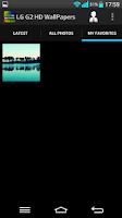Screenshot of LG G2 HD Wallpapers