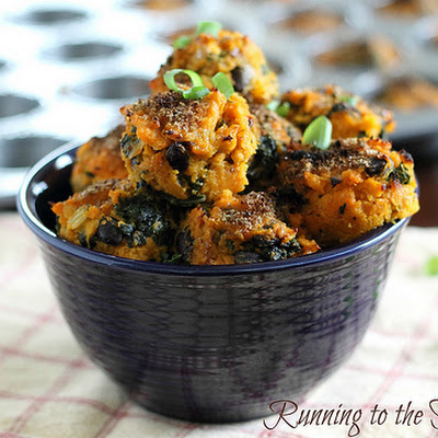 Sweet Potato Kale Bites