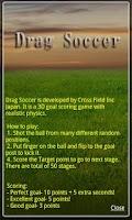 Screenshot of Drag Soccer