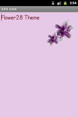 Flower28Theme