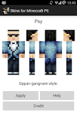 Screenshot of Skins for Minecraft PE