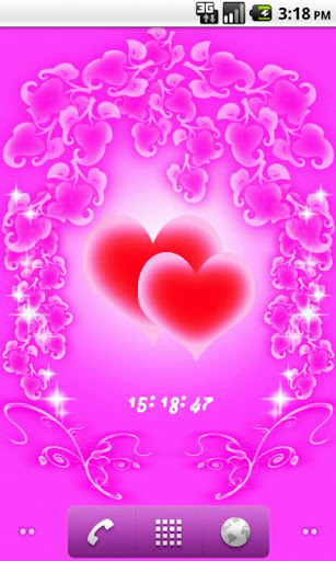 Hearts and Flowers LWP Free