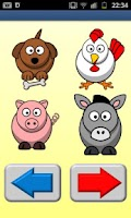 Screenshot of Farm Animals for Toddlers (PL)