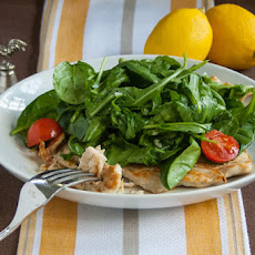 Chicken Paillard with Lemon Salad