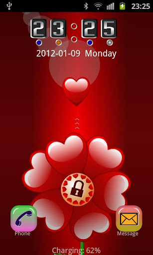 GO Locker Valentine Theme
