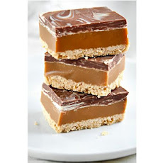Millionaires Shortbread - Chocolate, Ginger and Caramel Slices
