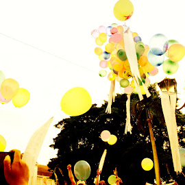 Balloons for democracy by Citra Putra Pertama - News & Events Politics
