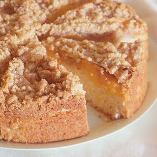 Peach Streusel Coffee Cake