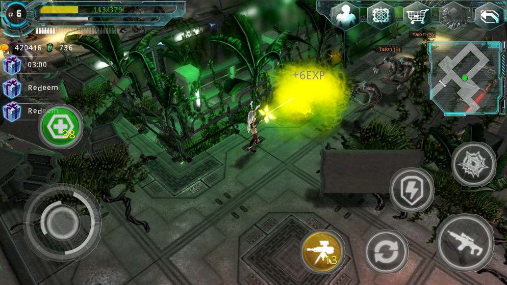 Alien Zone Plus Screenshot 13