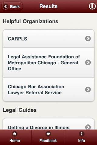 Illinois Legal Aid App