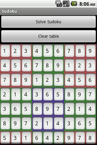 數獨解算器