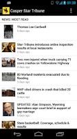 Screenshot of Casper Star Tribune