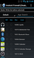 Screenshot of Android Firewall Gold