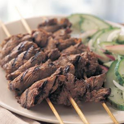 Grilled Thai Beef Skewers