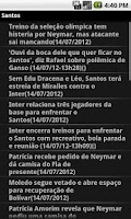 Screenshot of Noticias do Santos