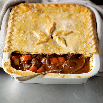 Big Beef In Red Wine Pie