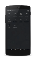 Screenshot of Flat Style Theme CM11