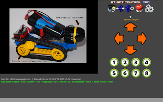 Screenshot of BT Bot Control