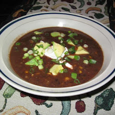 Smokey Black Bean Soup
