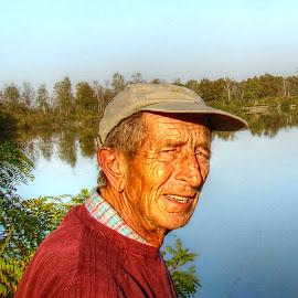 Fisherman by Tihomir Beller - People Portraits of Men