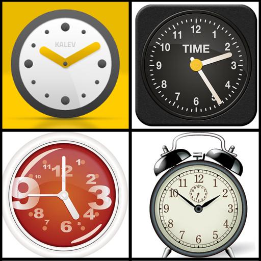 6 Beautiful Clocks Wallpaper
