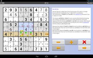 Screenshot of Sudoku Grab'n'Play Free