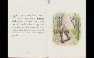 Screenshot of PopOut! Tale of Benjamin Bunny