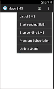 MassSms - screenshot