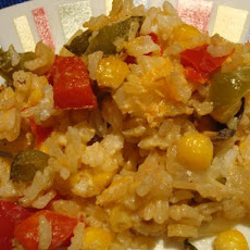 Baked Corn and Rice Casserole