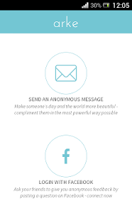 Arke - Send Anonymous Message - screenshot