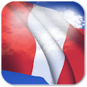 3D Peru Flag icon