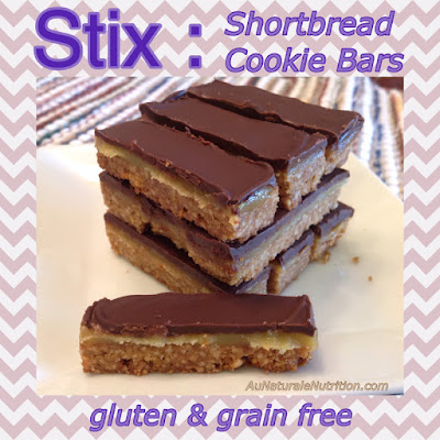 Shortbread Cookie Bars - Au Naturale!