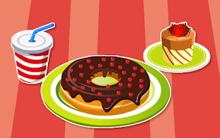 Screenshot of Melting Donut Decoration
