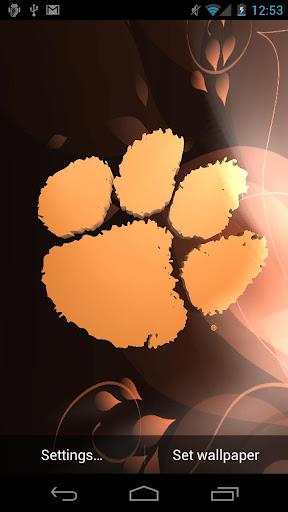 Clemson Tigers Live WPs Tone