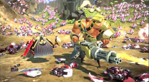 Gearbox reveals their new next-gen FPS title Battleborn