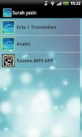 Screenshot of Yaseen