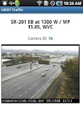 Screenshot of UDOT Traffic