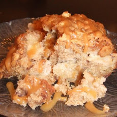 Fresh Apple Cake With Caramel Glaze