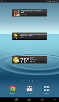 Screenshot of News & Weather (beta)
