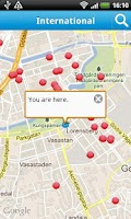 Screenshot of Cityguide Gothenburg