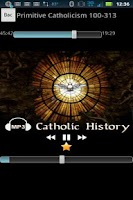 Screenshot of Audio Catholic History