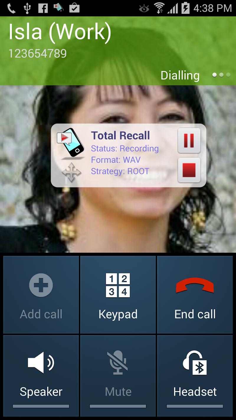 Call Recorder S9 Screenshot 1